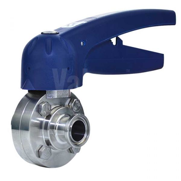 Bardiani Clamp End Hygienic Butterfly Valve
