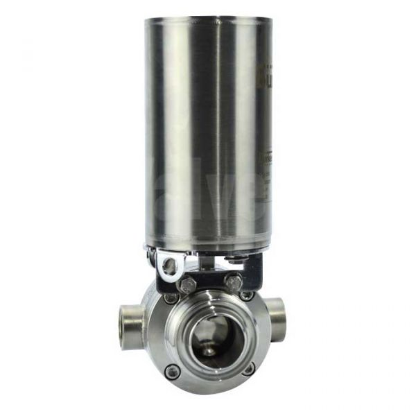 Air Operated Hygienic Jacketed Butterfly Valve