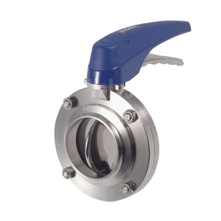Inoxpa 4800 Hygienic Butterfly Valve with 2 Position Pull Handle