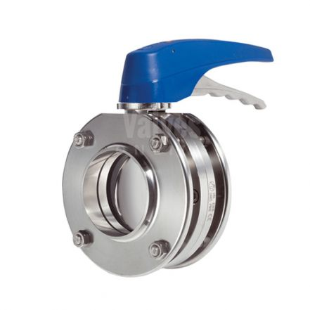 Inoxpa 4900 Hygienic Butterfly Valve with Pneumatic Actuator and C Top