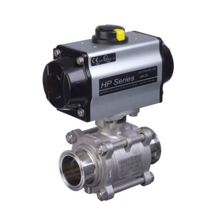Pneumatic Actuated Hygienic Ball Valve