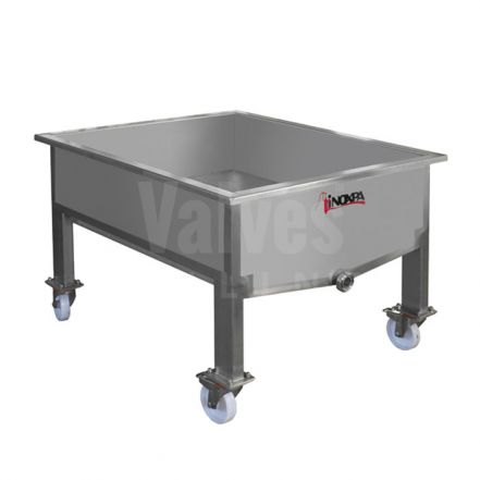 Inoxpa CRC Drainage Trolleys for Cheese Curd