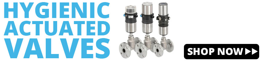 Hygienic Actuated Valves